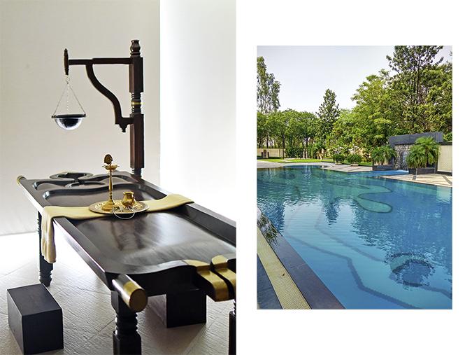 The Lalit Chandigarh | Akanksha Redhu | combo ayurveda bed pool
