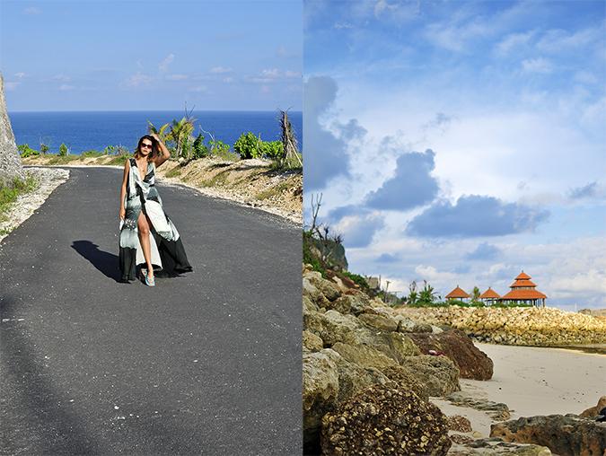 Pantai Melasti   Bali   Akanksha Redhu   combo full front road far and hut