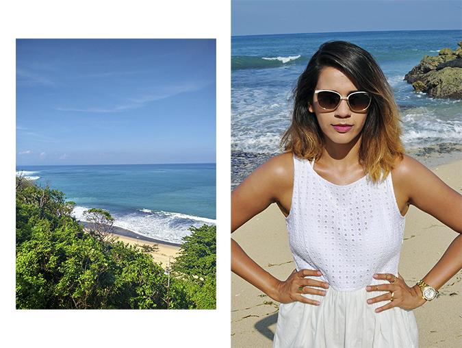 Nikkos Beach | Bali | Akanksha Redhu | combo uptop and half front