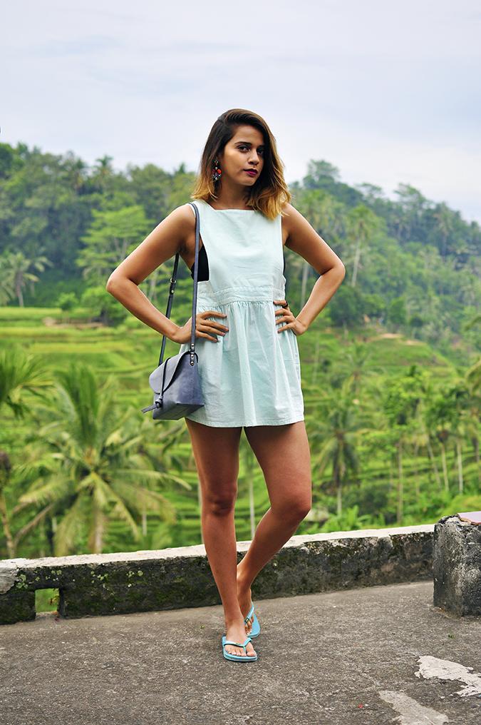Tegalalang Rice Terraces - Ubud | Bali | Akanksha Redhu | full front terrace roof