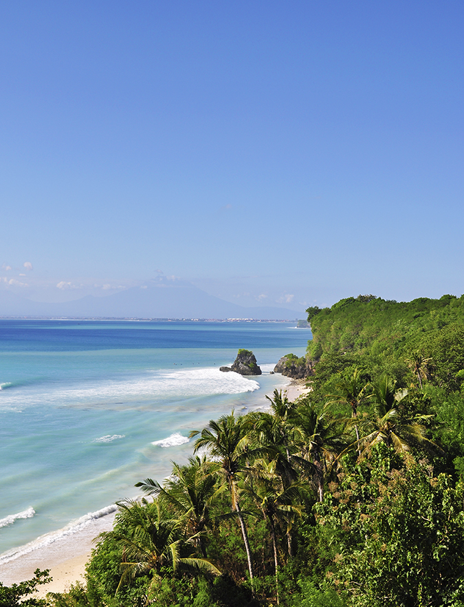 Padang Padang Beach | Bali | Akanksha Redhu | beach from top