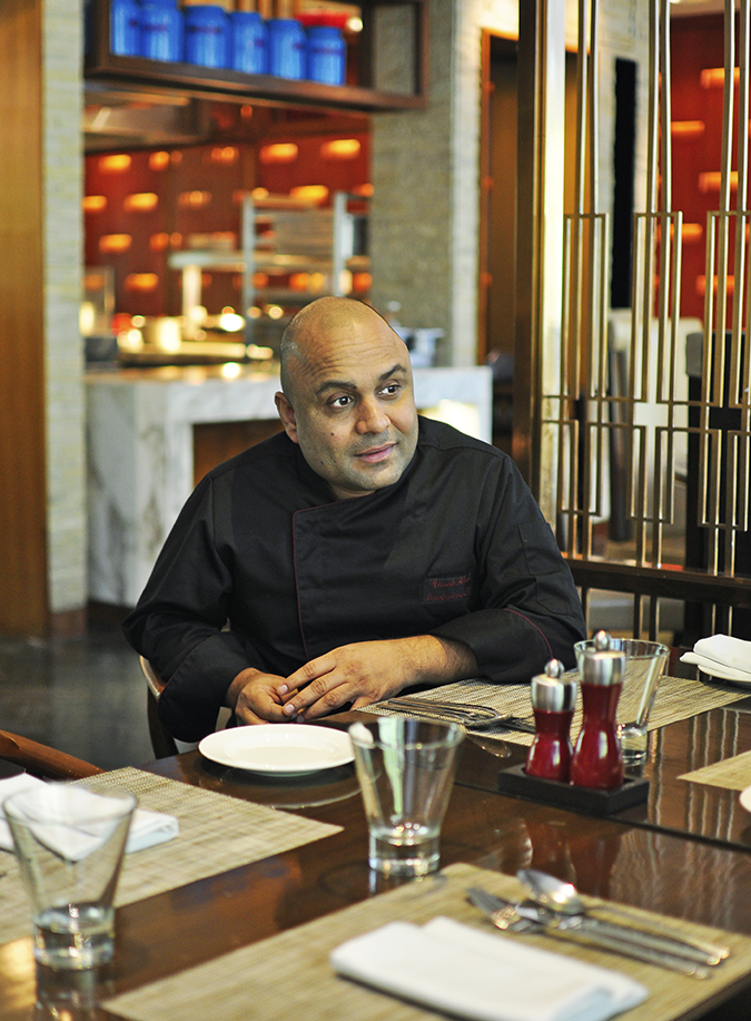 JW Marriott |Chef Vivek Bhatt | Akanksha Redhu | chef sitting conversation