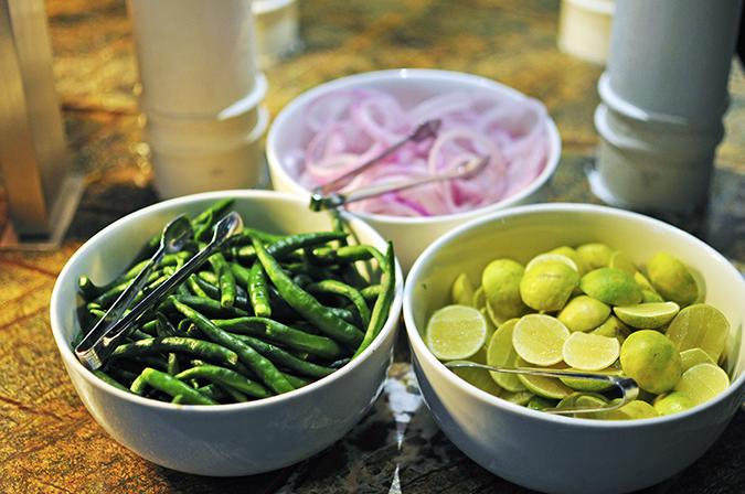 JW Marriott |Chef Vivek Bhatt | Akanksha Redhu | chillies onion lime