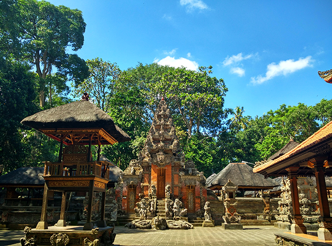 Sacred Monkey Forest Sanctuary - Ubud | Akanksha Redhu | temple wide phone