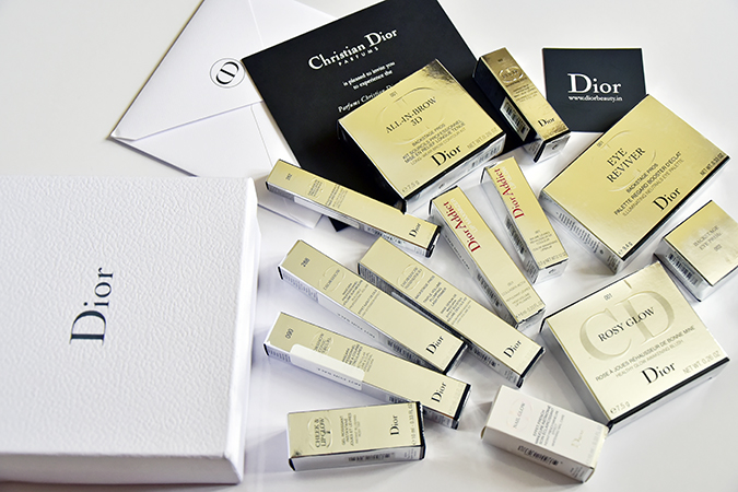 Dior Beauty India | Akanksha Redhu | cartons wide