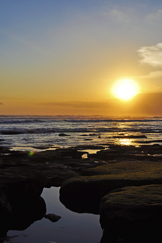 Kedungu Beach | Bali | Akanksha Redhu | sunset rocks water long