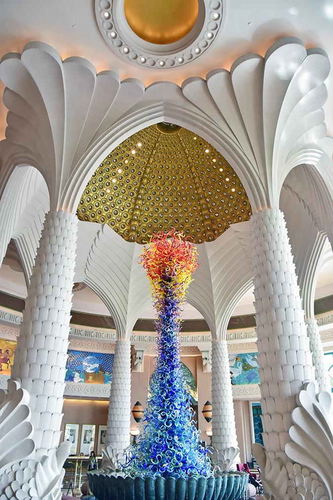 Emirates Holidays | Dubai | Akanksha Redhu | atlantis lobby