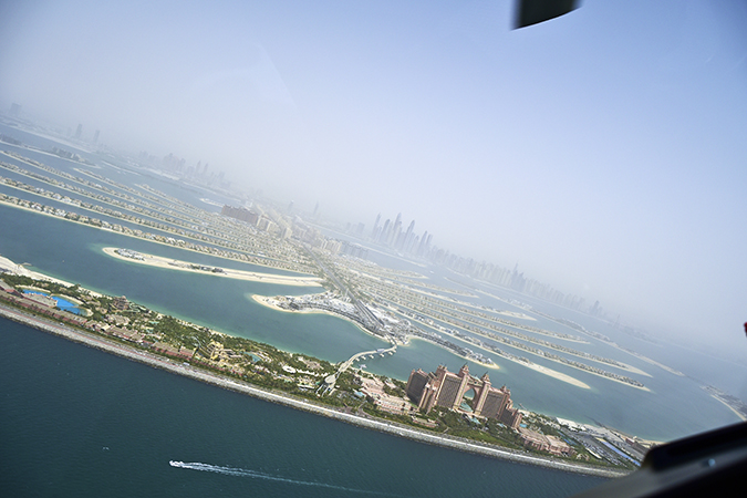 Emirates Holidays | Dubai | Akanksha Redhu | heli dubai view atlantis