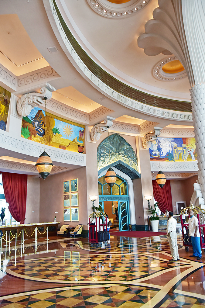Atlantis The Palm | Dubai | Emirates Holidays | Akanksha Redhu | lobby long
