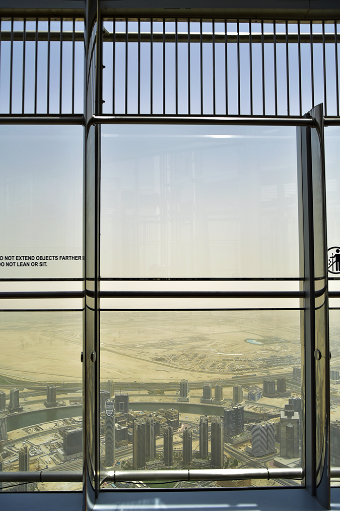 Burj Khalifa | Dubai | Akanksha Redhu | view from outdoor deck