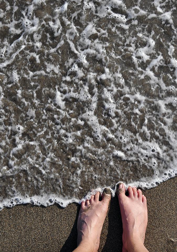 Berawa Beach | Bali | Akanksha Redhu | feet water