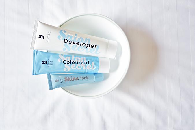 BBLUNT Salon Secret Hair Colour   Akanksha Redhu   3 tubes in bowl