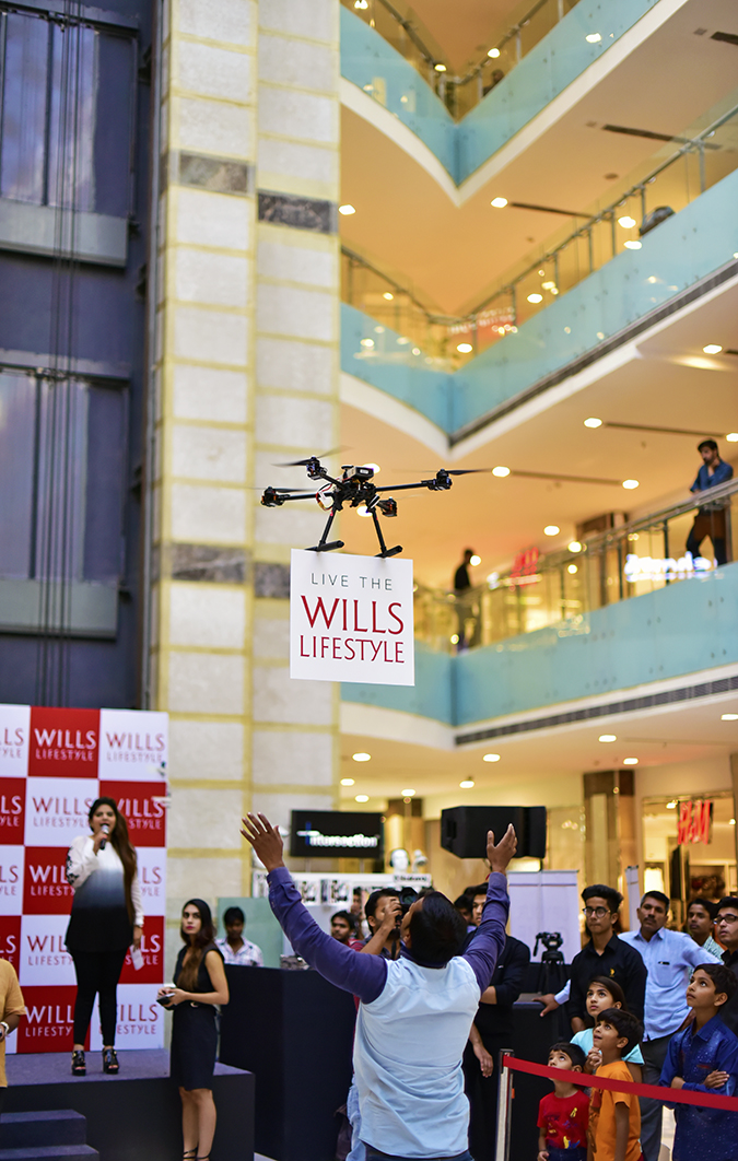 Wills Lifestyle AW16 | Akanksha Redhu | live the wl drone ppl below