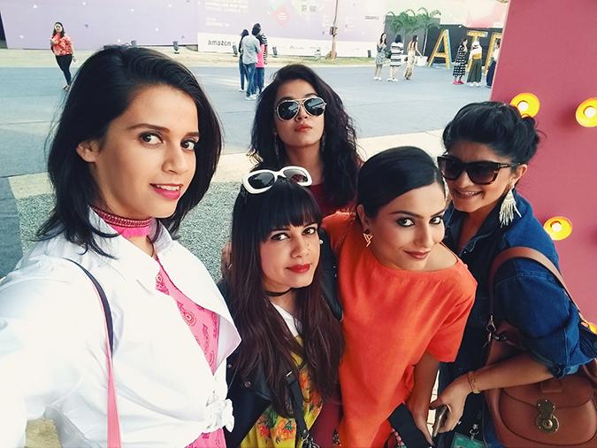 #AIFWSS17 | Akanksha Redhu | bloggers