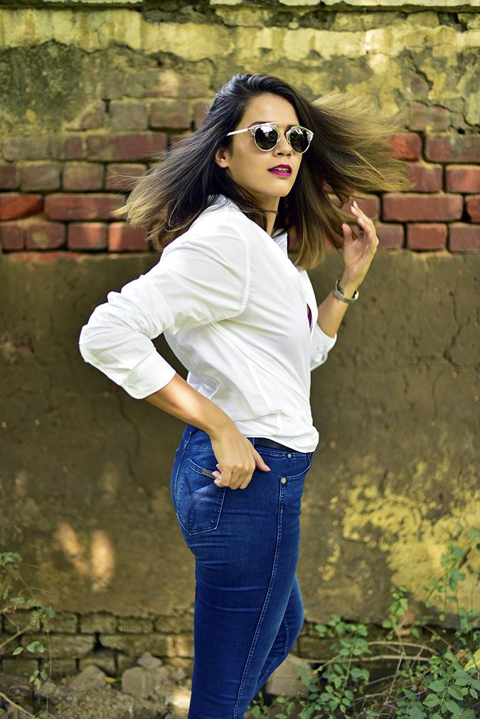 Calvin Klein   Akanksha Redhu   half side twirl