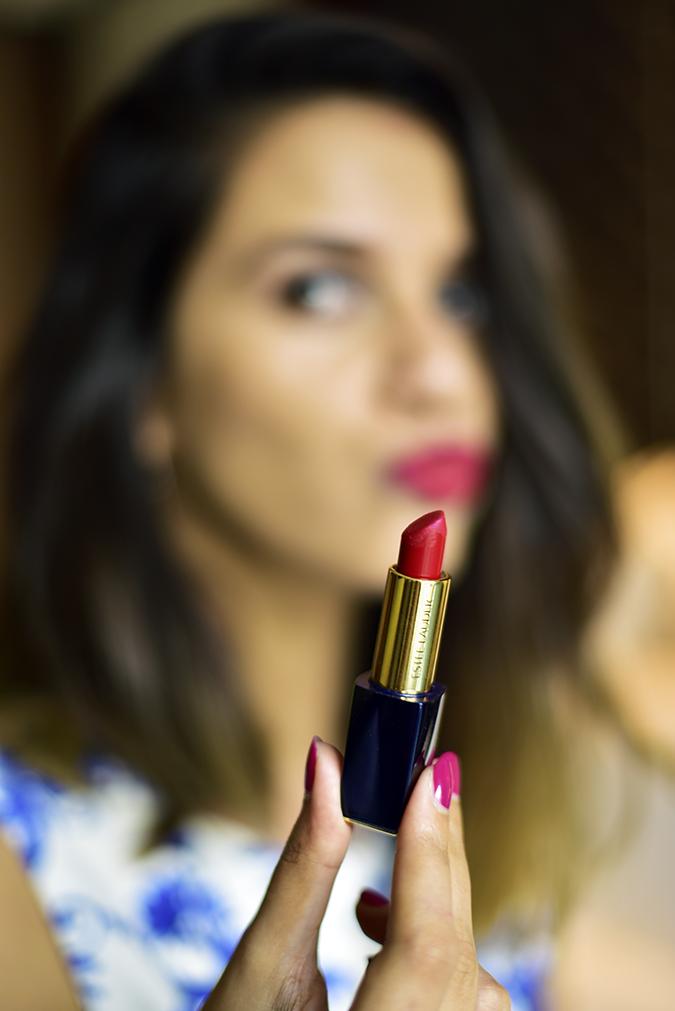 #BornFromColor | Estée Lauder | Akanksha Redhu | pout blur lipstick focus