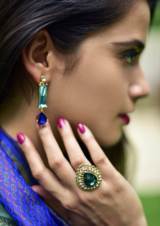 Amazon India Modern Festive | Akanksha Redhu | earring ring