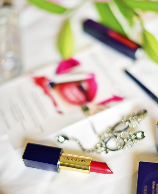 #BornFromColor | Estée Lauder | Akanksha Redhu | lipstick on bed long
