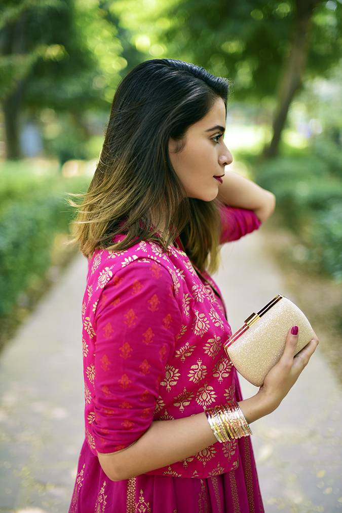 Max Fashion Festive Collection | Akanksha Redhu | half side clutch path