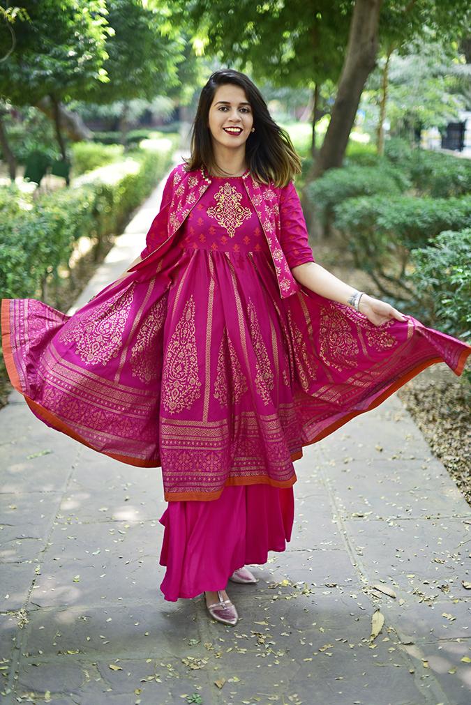 Max Fashion Festive Collection | Akanksha Redhu | full front path arm twirl