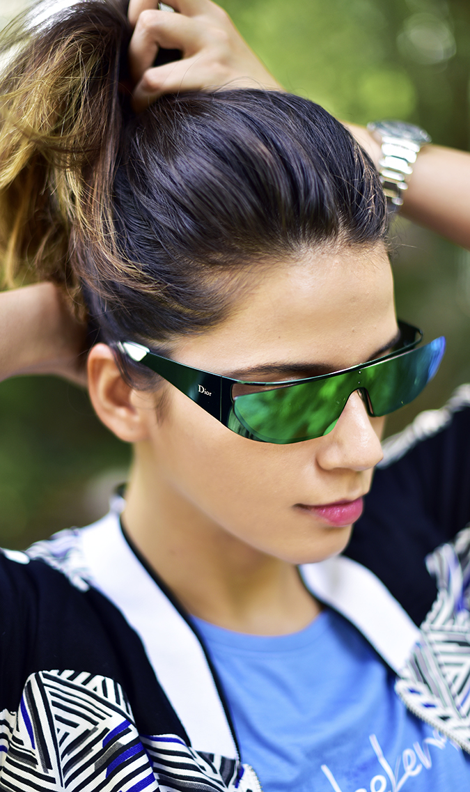 United Colors of Benetton   Akanksha Redhu   halir up sunglasses