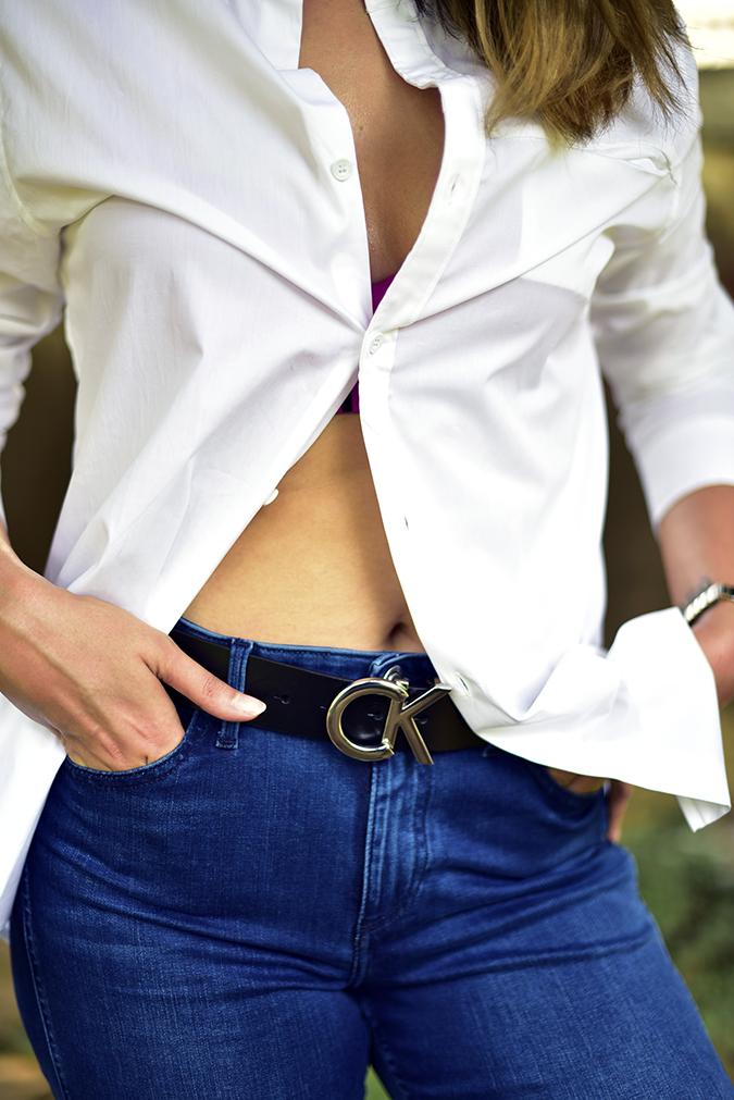 Calvin Klein | Akanksha Redhu | front half on ebutton tummy