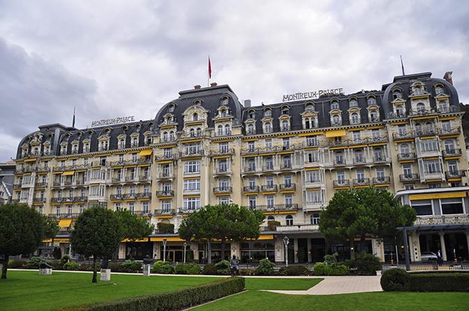 #GlionLuxury | Akanksha Redhu | montreus palace building full wide 22