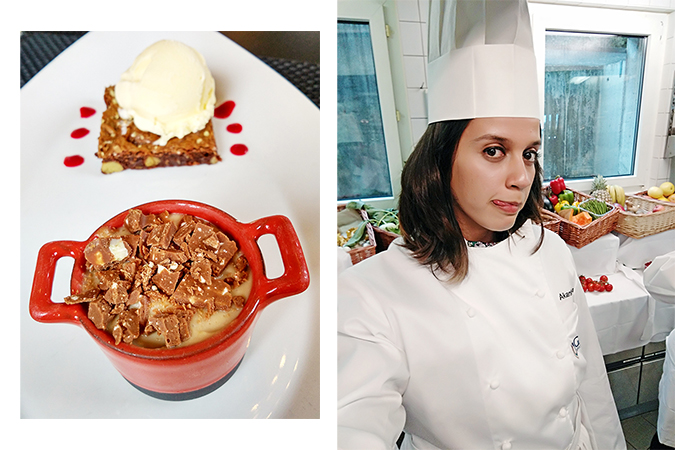 #GlionLuxury | Akanksha Redhu | dessert chef tongue out combo 30
