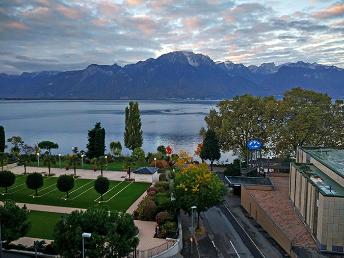 #GlionLuxury | Akanksha Redhu | montreux palace morning view wide 36