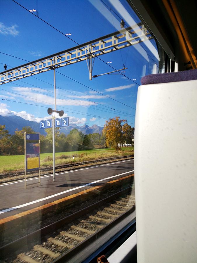 #GlionLuxury | Akanksha Redhu | view from train 38