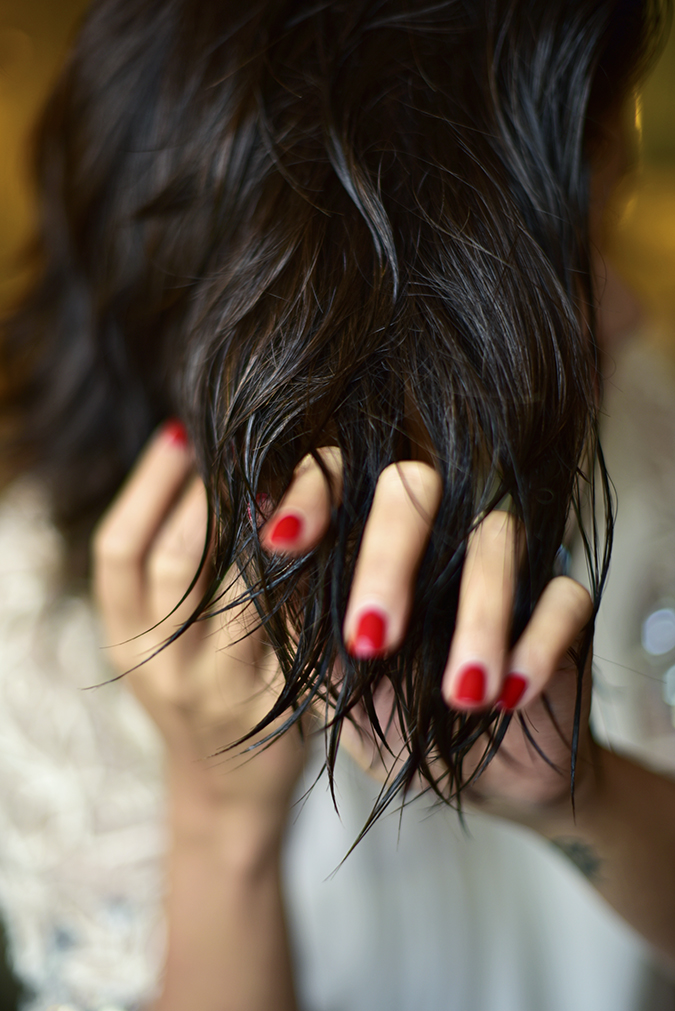 BBLUNT | Akanksha Redhu | damp hair and nails