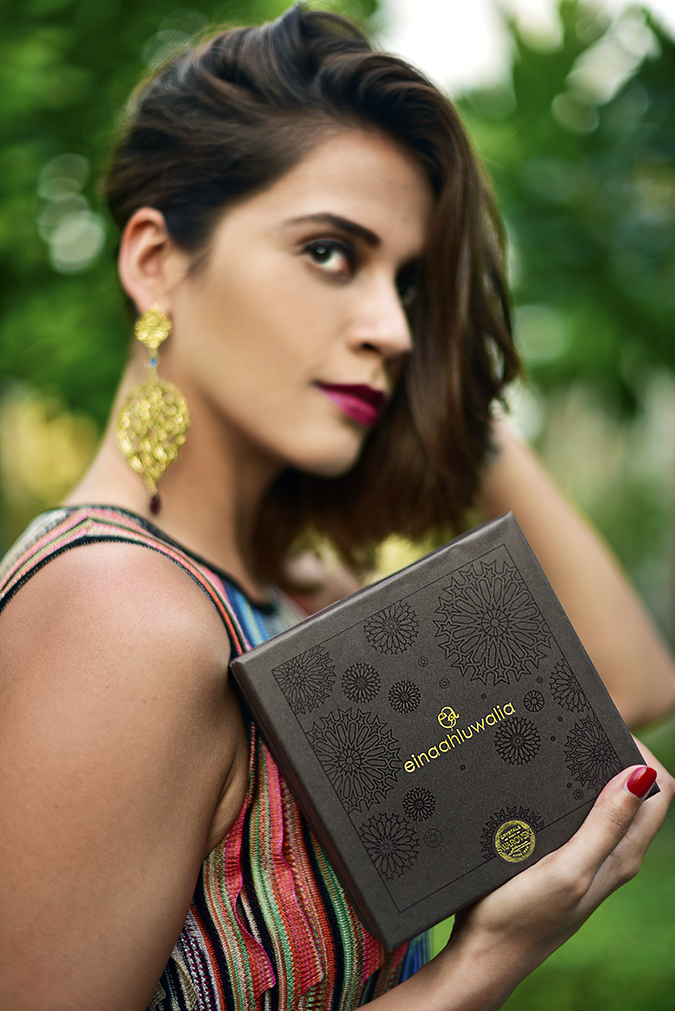 Swarovski Confluence | Akanksha Redhu | face branding