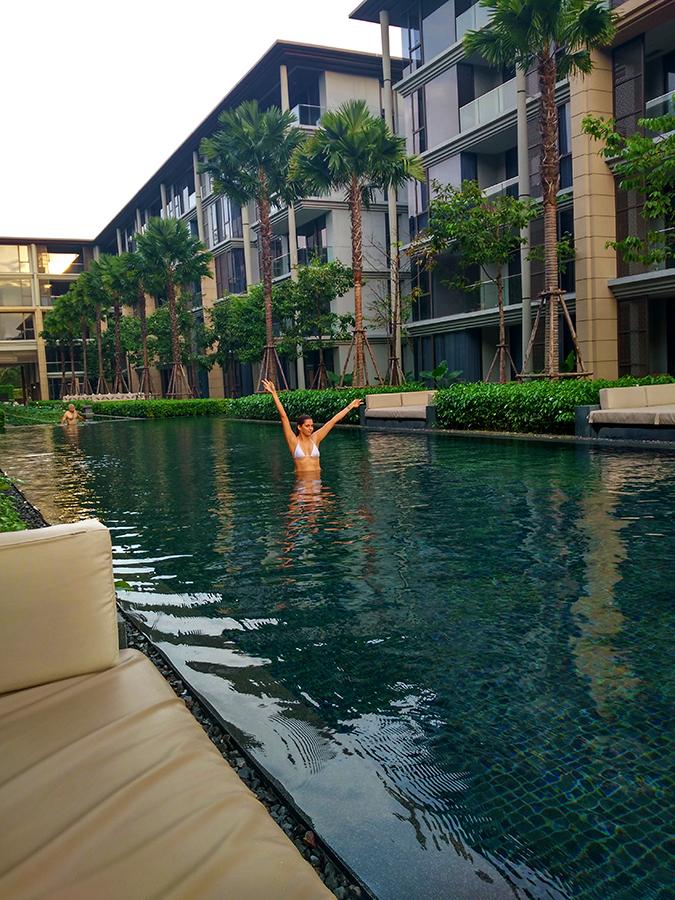 Baan Mai Khao | Phuket | Akanksha Redhu | me in pool