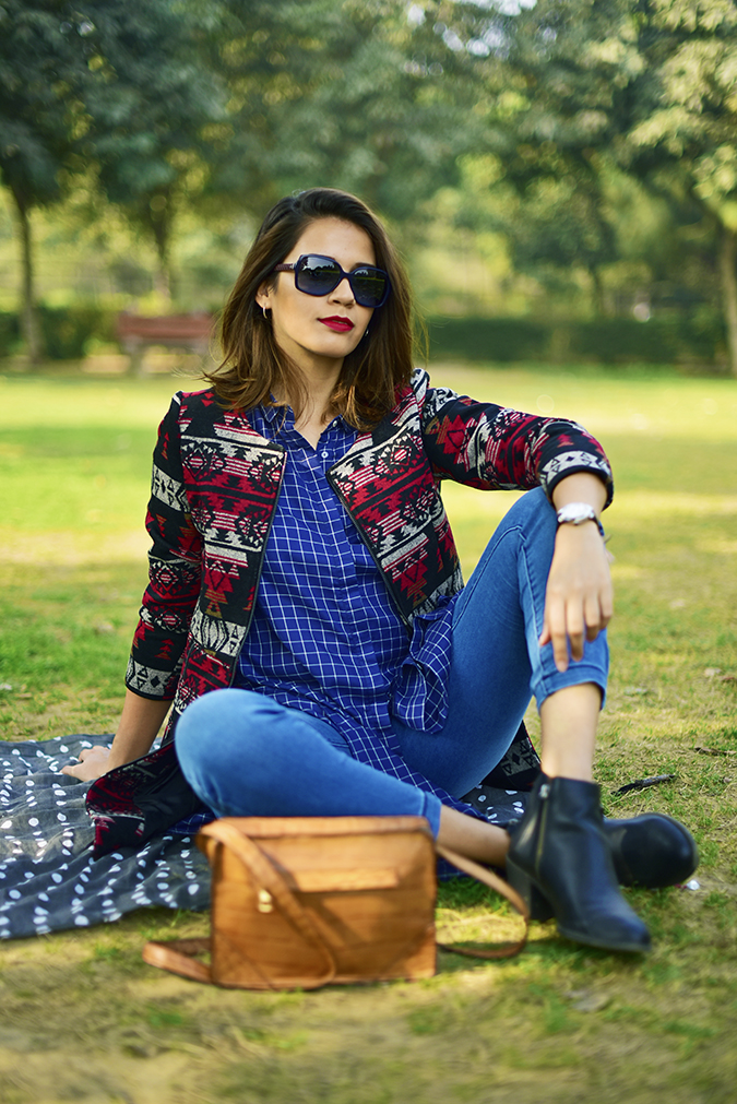 #BuyTheWillsLifestyle | Akanksha Redhu | park sitting closer