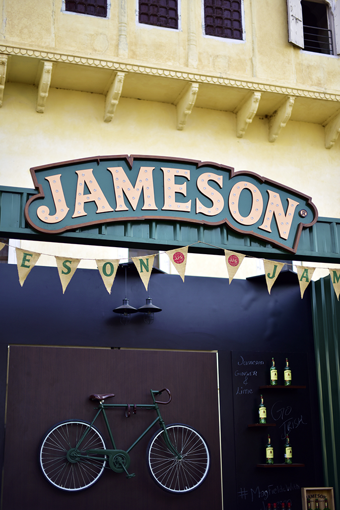 Magnetic Fields Festival 2016 with Jameson | Akanksha Redhu | Jameson bar sign