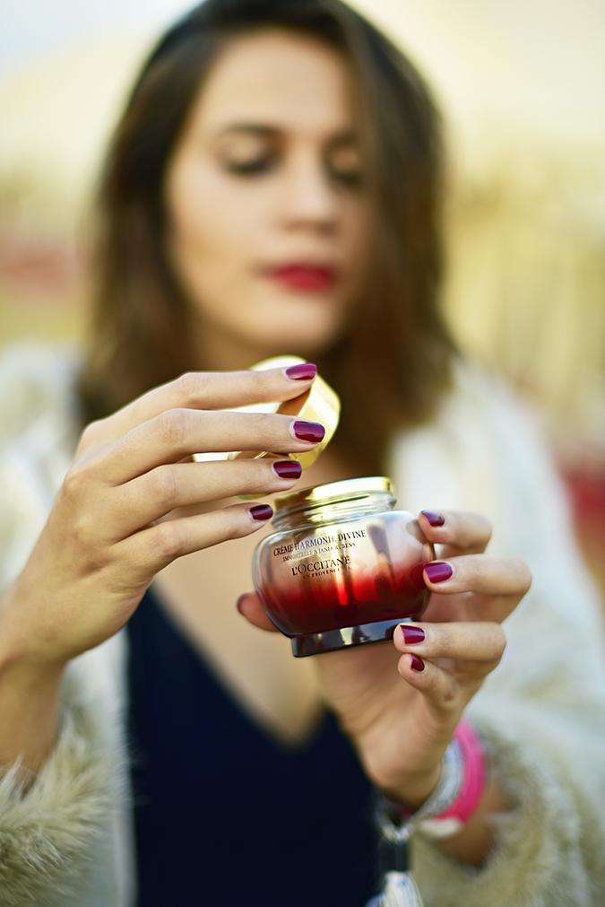 L'Occitane Harmonie Divine | Akanksha Redhu | opening cream