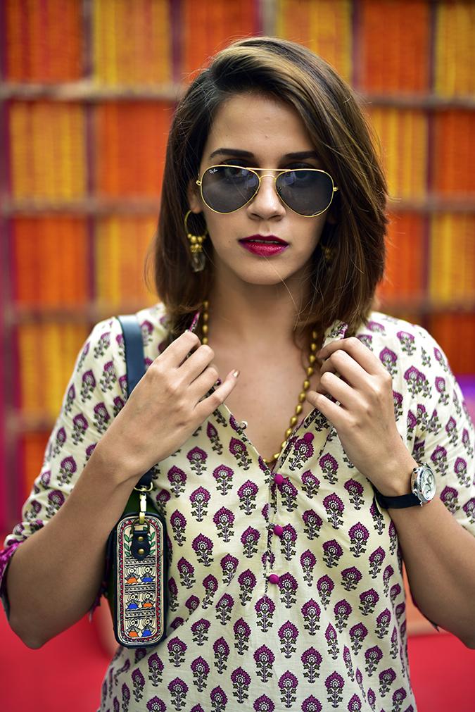 Myx | Amazon | Akanksha Redhu | half front pulling collar
