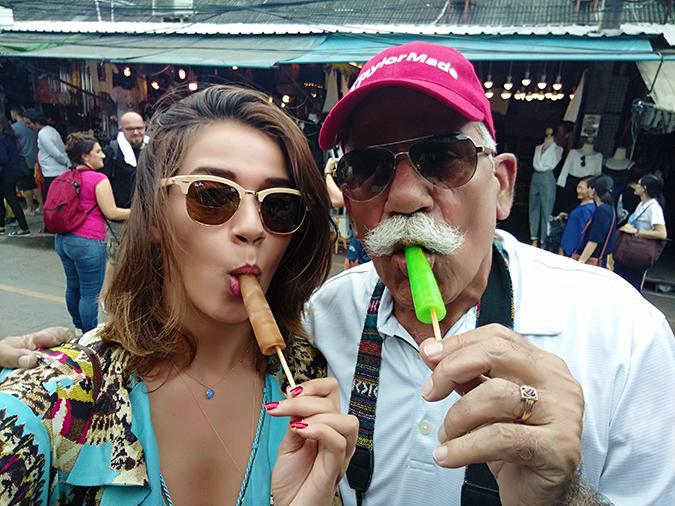 Chatuchak Weekend Market Bangkok | Akanksha Redhu | me dad popsicle