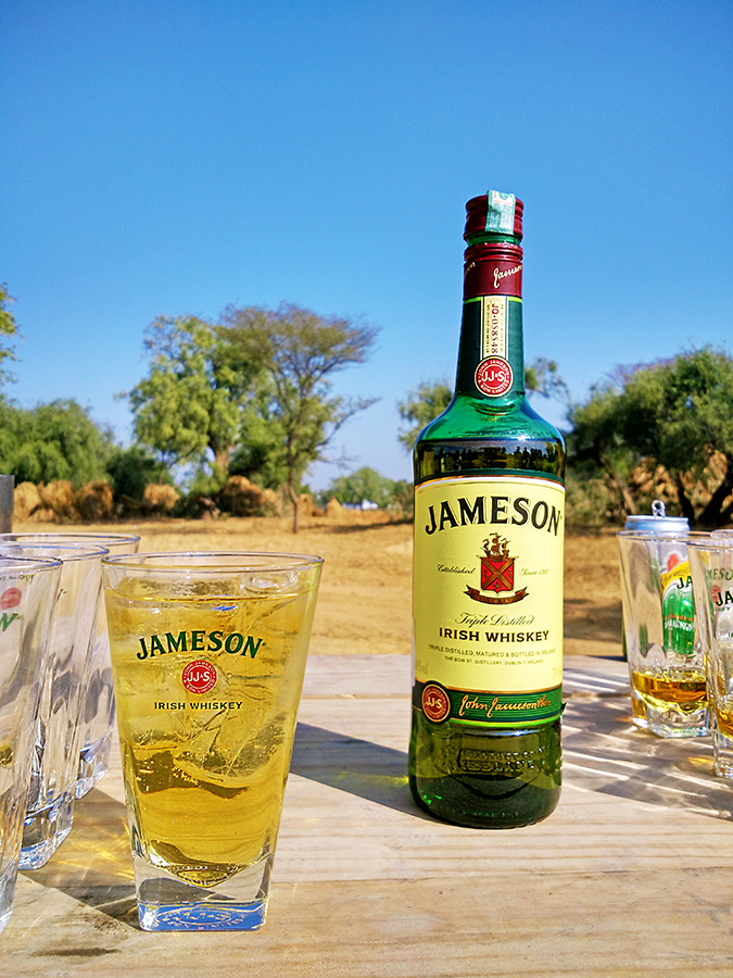 jameson on the road