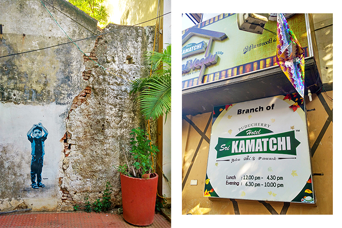Pondicherry | Akanksha Redhu | lunch resto and graffiti