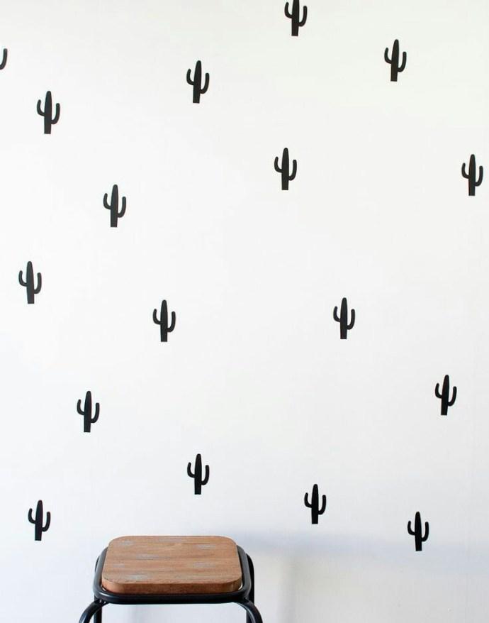 Home Inspo | Akanksha Redhu | cactus wallpaper