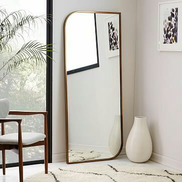 Home Inspo | Akanksha Redhu | long mirror on floor
