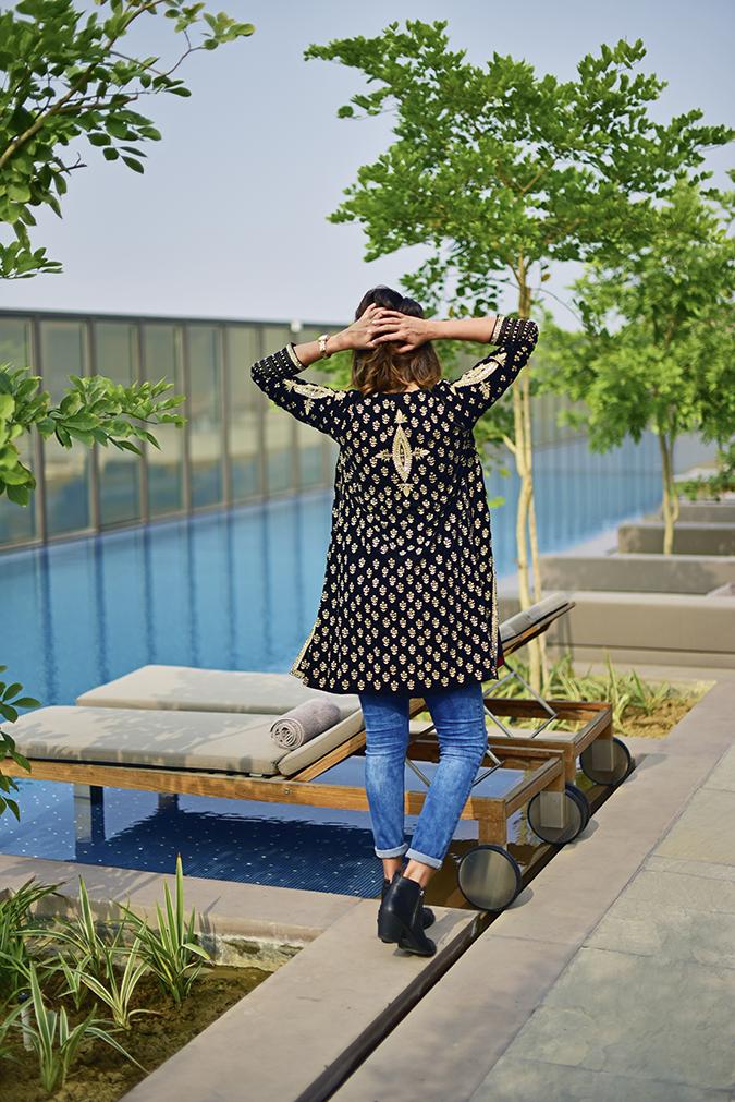 Aditi Somani | Akanksha Redhu | full back arms up