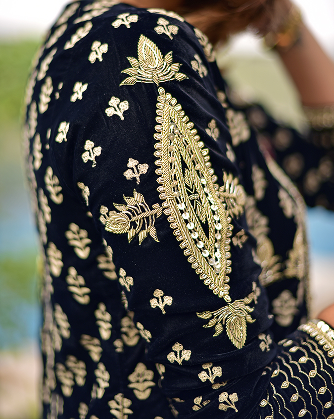 Aditi Somani   Akanksha Redhu   sleeve details