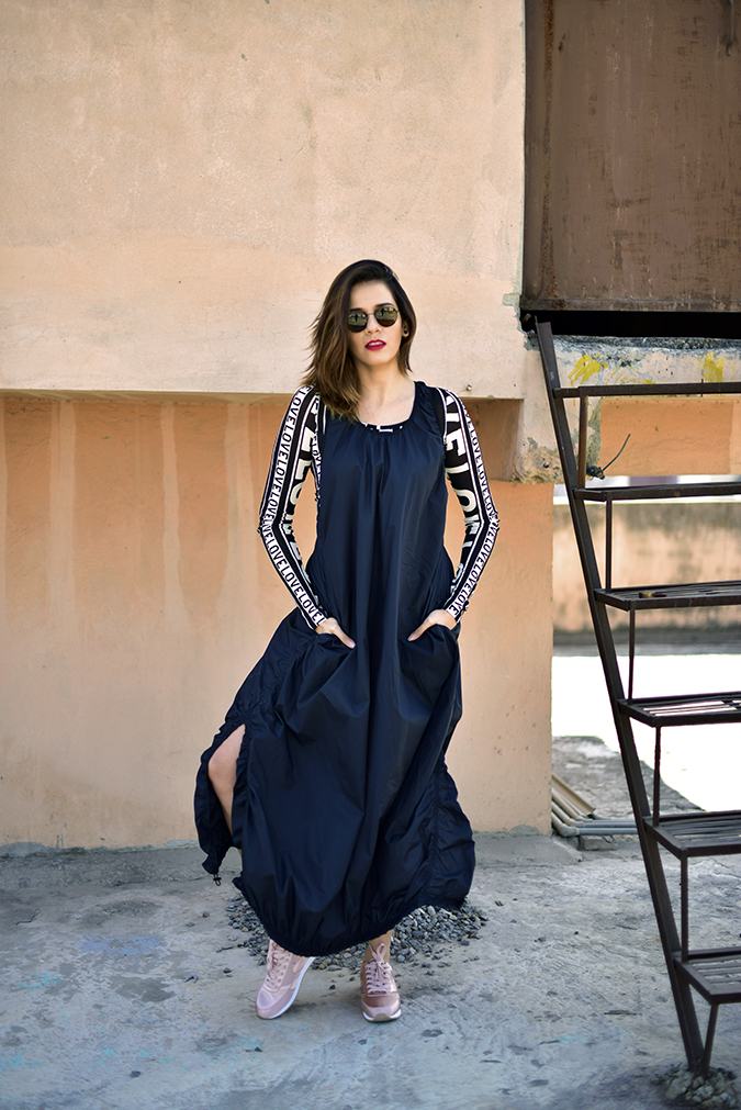 H&M Studio SS17   Akanksha Redhu   full front hand in pockets