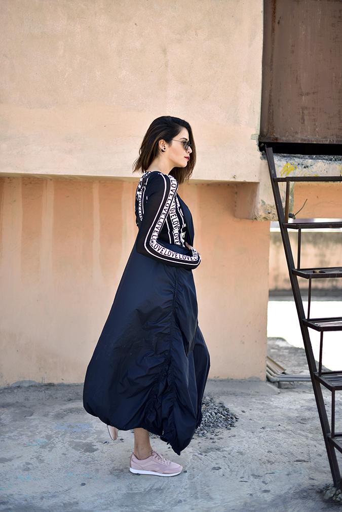 H&M Studio SS17 | Akanksha Redhu | full side hair side