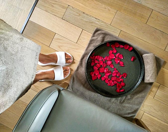 Roseate House | Akanksha Redhu | spa rose petals wide