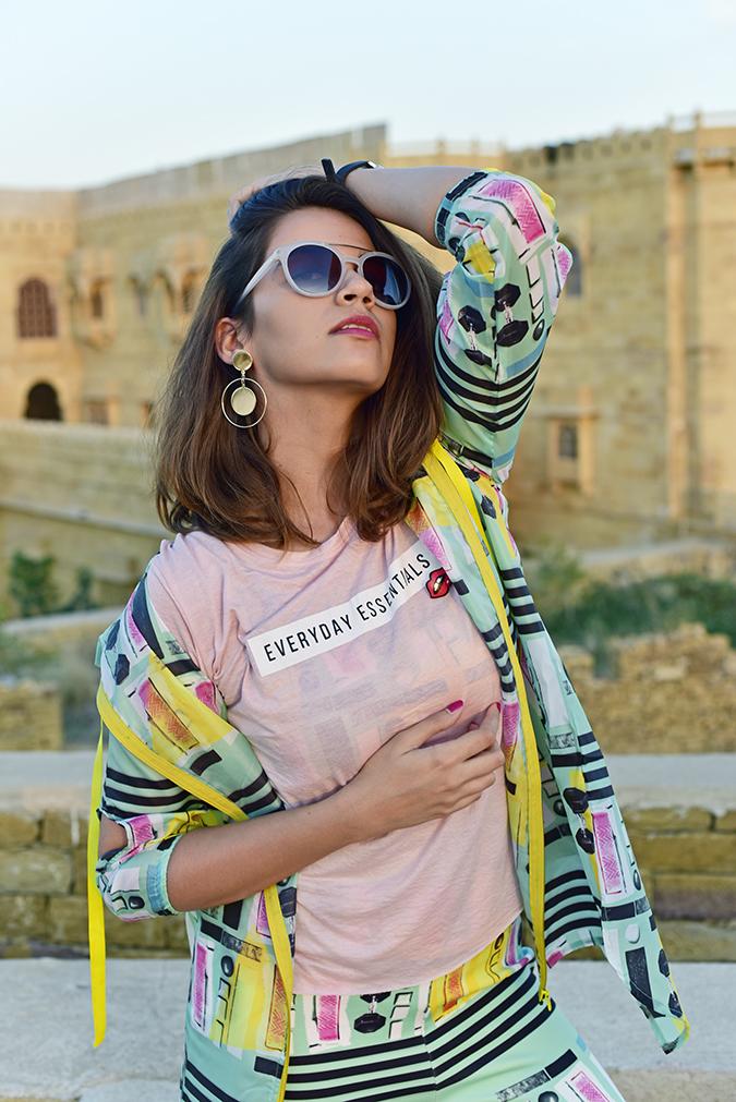 #MasabaxKoovs | Akanksha Redhu | half front hand under boob