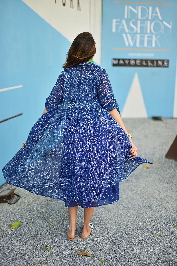 Amazon India Fashion Week | Akanksha Redhu | full back fly