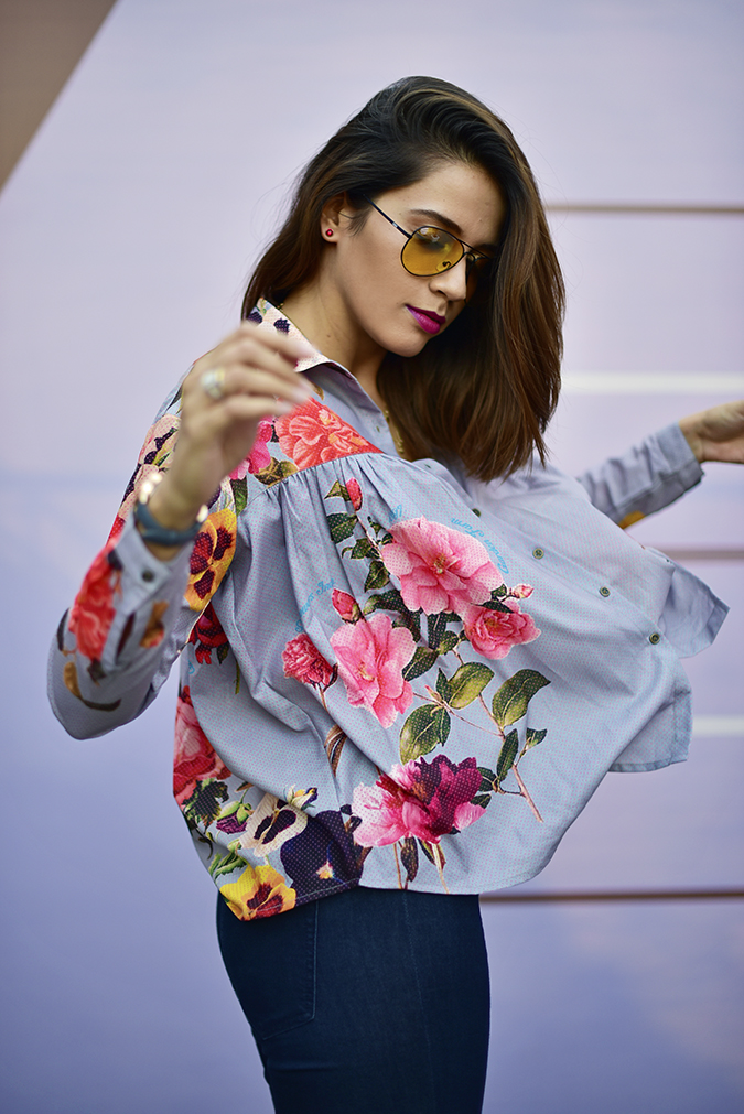 Amazon India Fashion Week | Akanksha Redhu | half side fly